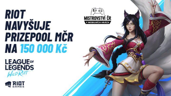 Riot Games zvyšuje finanční odměny na Samsung MČR v mobilních hrách